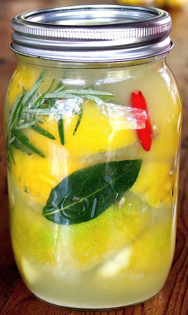 SavannaBel's preserved lemons.