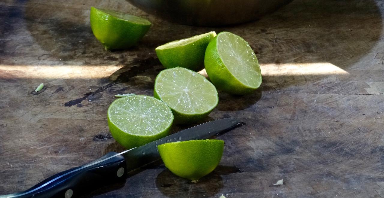 Fresh lime, the je ne sais quoi of this recipe!