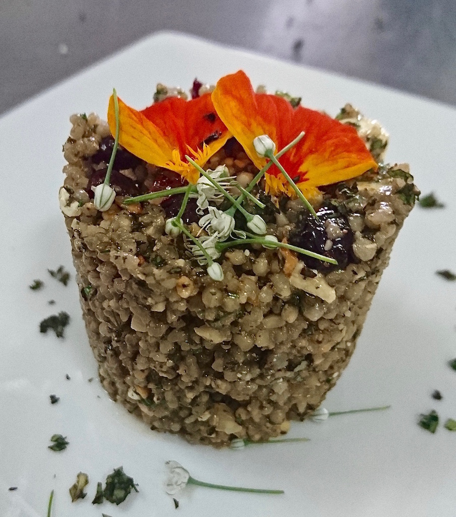 Gluten-free, nzembwe has replaced quinoa and couscous--both of which are imported--in all our recipes.