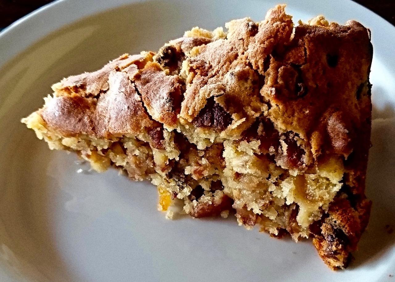 A slice of Granny Hanni's Cake Goes Wild!